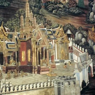 Détail de jakata Wat Phra Kaew @thaietvous