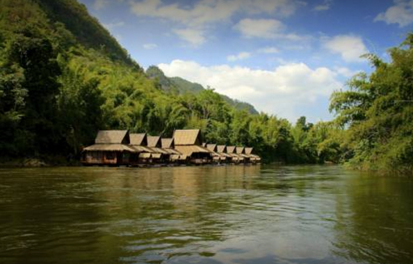 the float house river kwai