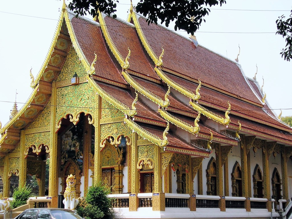Temple à Chiang Mai @thaietvous