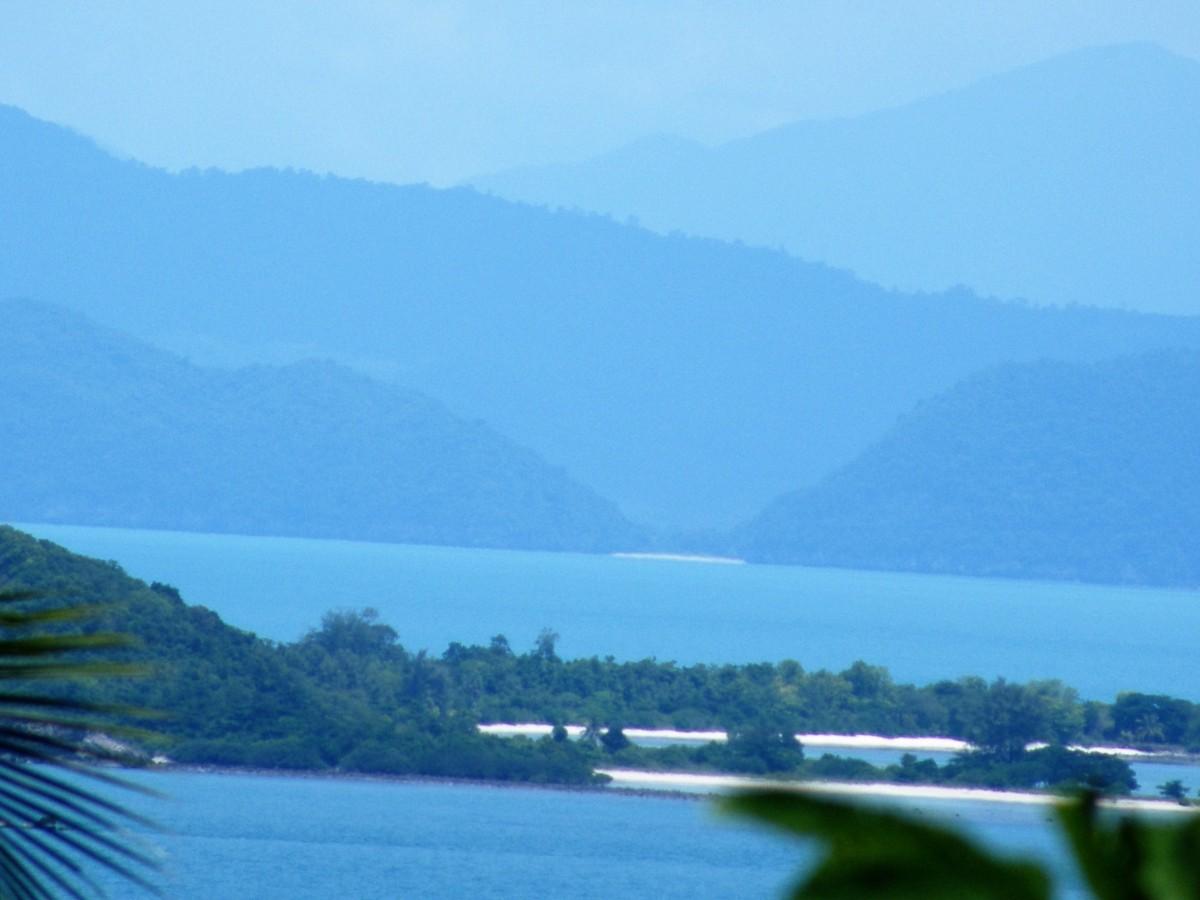 La province de Surat Thani, Thaïlande
