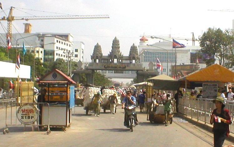 Aranyaprathet_border