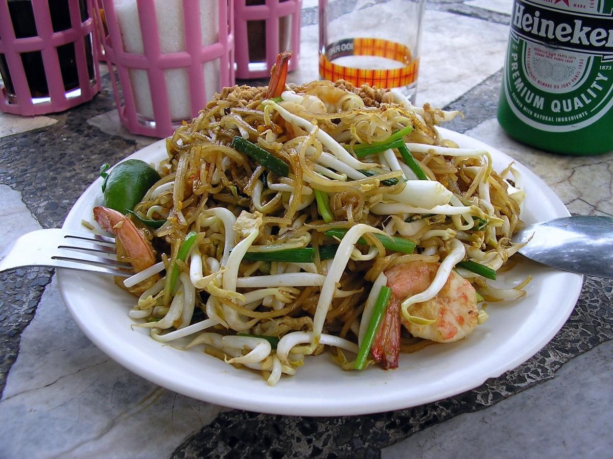 Le pad thaï, un plat aux origines surprenantes