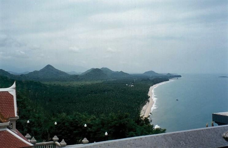 La côte vers le nord, province de Phrachuap Khiri Khan @thaietvous