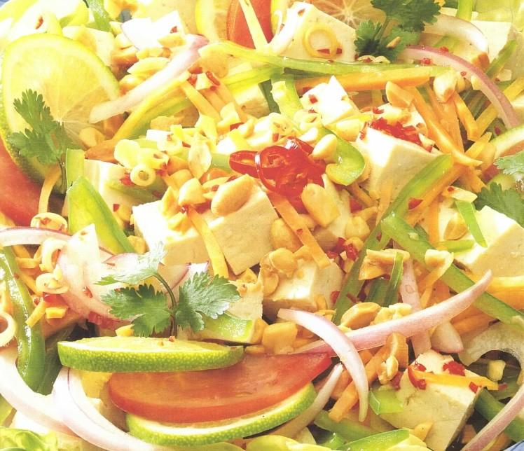 salade-épicée-au-tofu