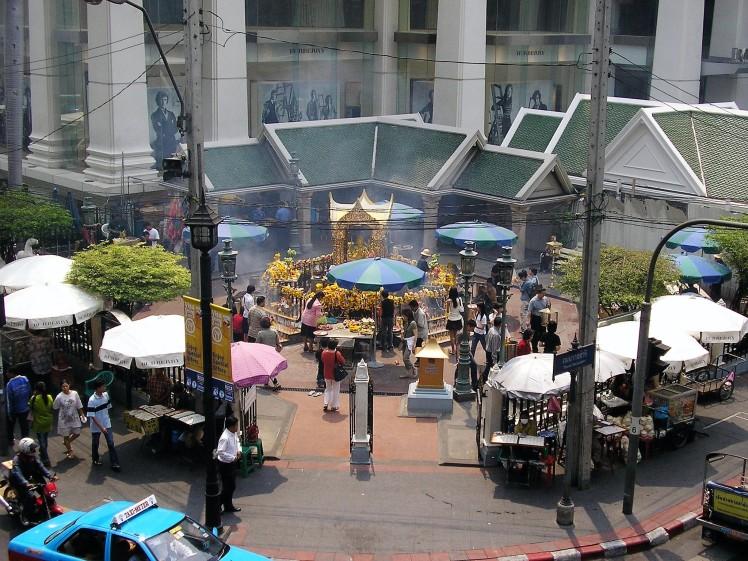 Sanctuaire Erawan, Bangkok, thai et vous