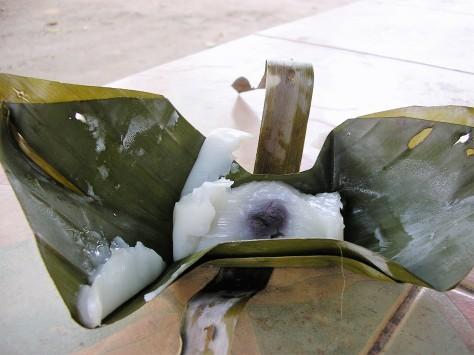 Riz gluant au lait de coco - Chiang Mai @thaietvous