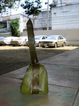 Emballage écologique dans une feuille de bananier - Chiang Mai @thaietvous