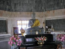 Intérieur chedi dédié au Roi Bhumibol, Doi Inthanon